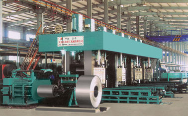 4 Stand Tandem Rolling Mill , Carbon Steel Strip Continuous Rolling Mill